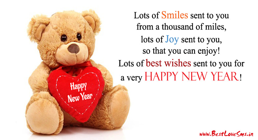 46+ Happy New Year Sms 2018, Wishes Messages & Shayari