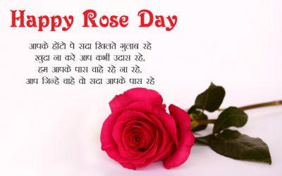 Happy Rose Day Shayari