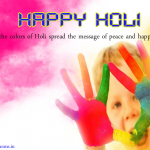 Happy Holi Status for Whatsapp, one or 2 lines Holi Quotes and Sayings