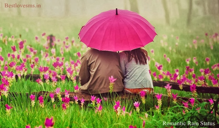 Romantic Rain Love Status Happy Rainy Day Barish Quotes For Lover