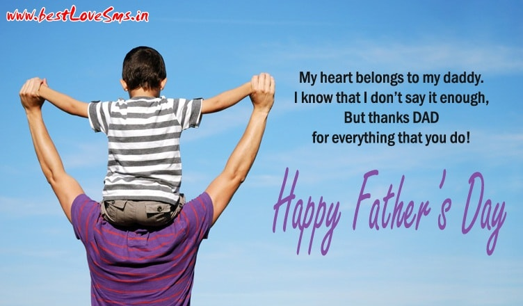 Happy Fathers Day Messages from Son to Loving Dad 2018 Text Lines