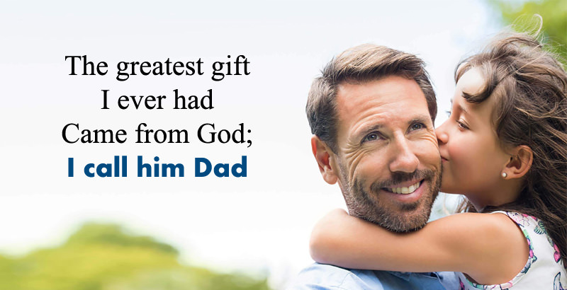 Cute Happy Fathers Day Quotes From Daughter