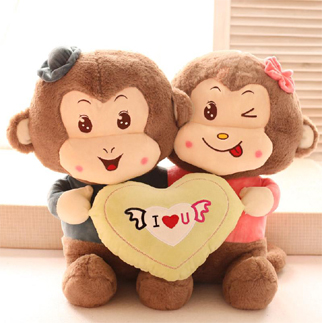 cute monkey dp