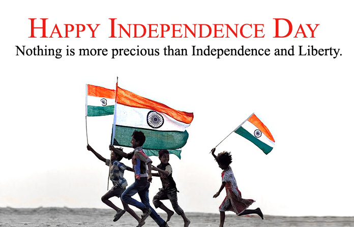 Indian Independence Picture of Children