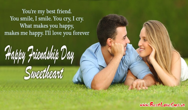 Friendship Day Messages for Girlfriend