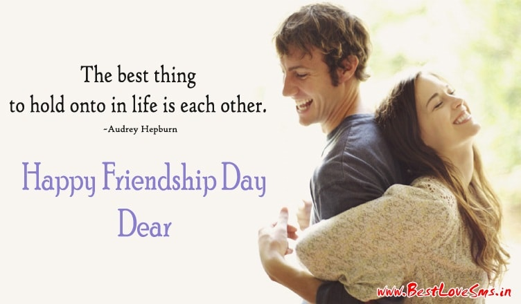 Friendship Day Messages for Boyfriend