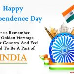 70th Happy Indian Independence Day Quotes with Images