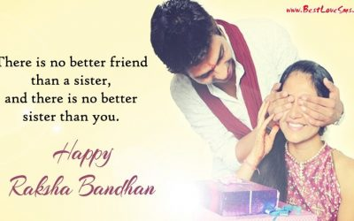 Happy Raksha Bandhan Messages for Sister