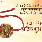 Happy Raksha Bandhan Quotes in Hindi | True Sibling Facts