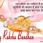 2 Line Happy Raksha Bandhan Status in Hindi
