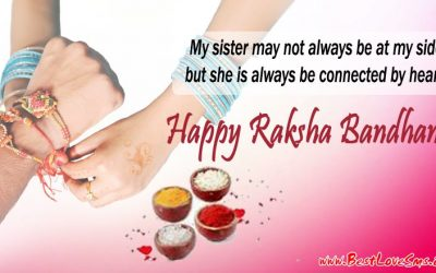 Raksha Bandhan Quotes for Sister in English