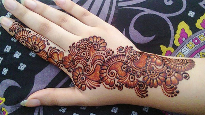 Mehndi Arabic Designs for Hands