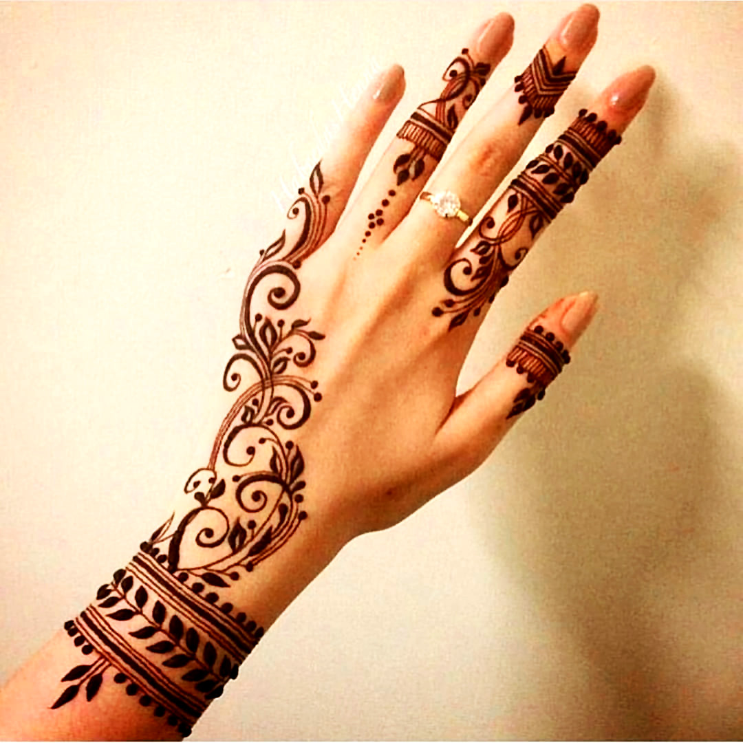 Arabic Mehndi Designs Pic