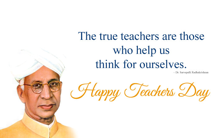 Dr. Sarvepalli Radhakrishnan Quotes Image on Education