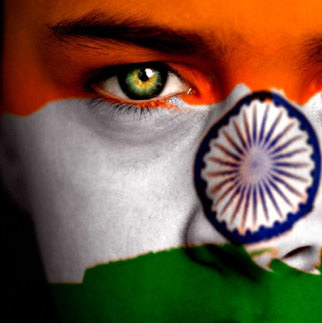 Face Color with Tiranga