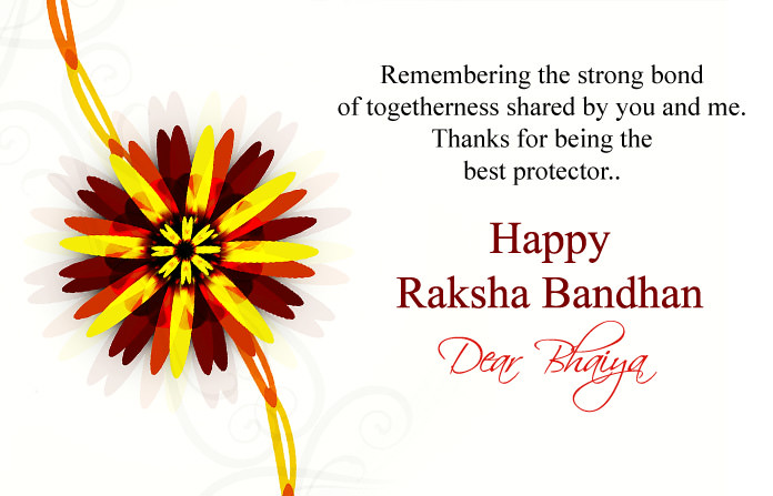 Happy Raksha Bandhan Bhaiya Greeting Image