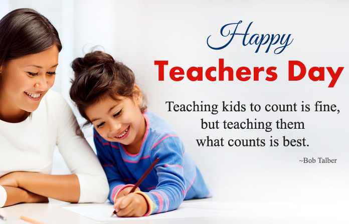 Happy Teachers Day Quotes For Kids