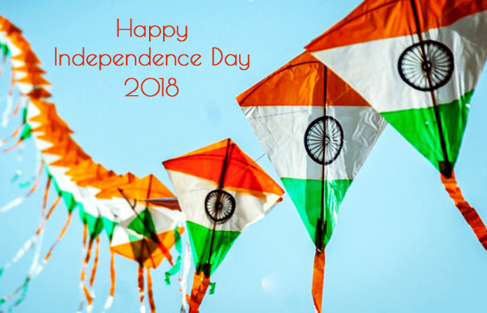 Kite Image on Independence Day