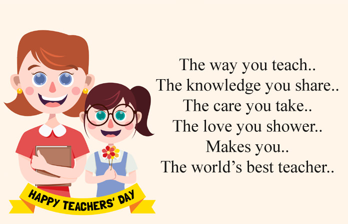 Teachers Day Message Image