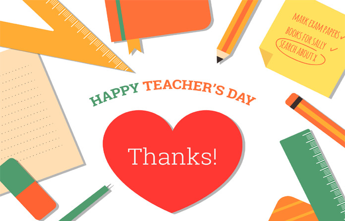 Teachers Day Thank You Image