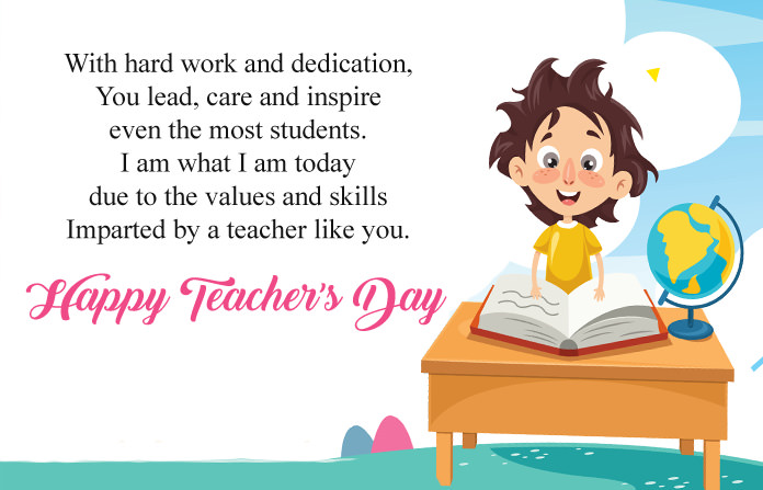 Thank You Words for Teachers