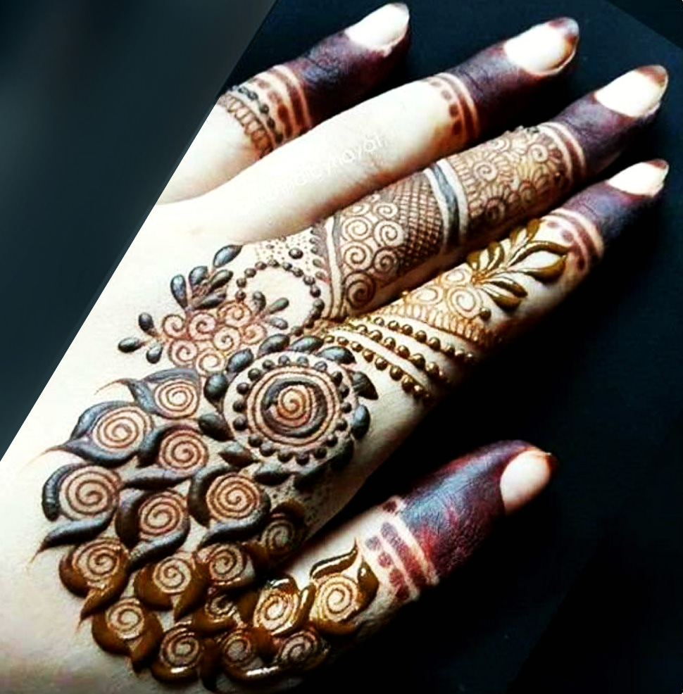 Wonderful Arabic Bridal Mehndi