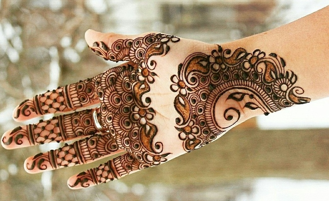 Front Hand Arabic Mehndi Designs for Stylish Girls Women, Simple ...