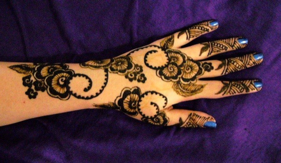 Arabic Mehandi Designs for Hand