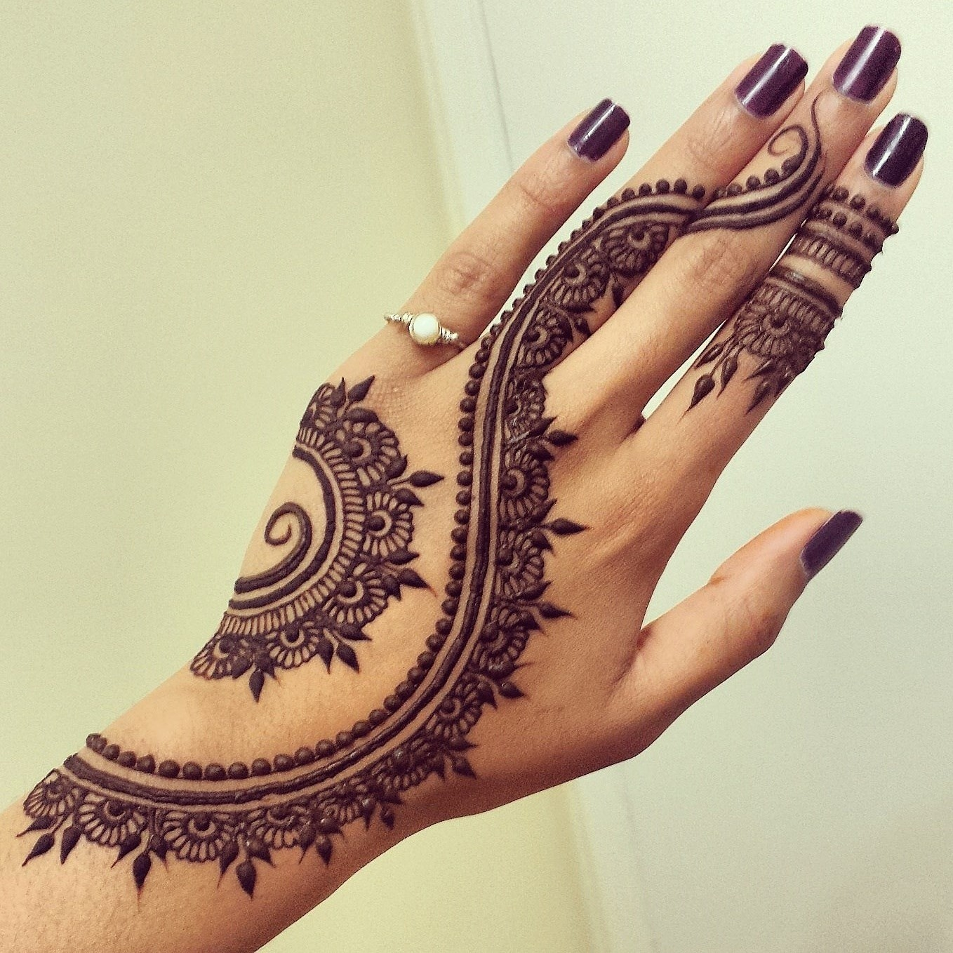 Arabic Mehndi Designs for Hand