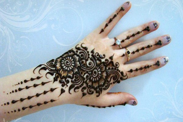 Mehndi Design for Hands Arabic