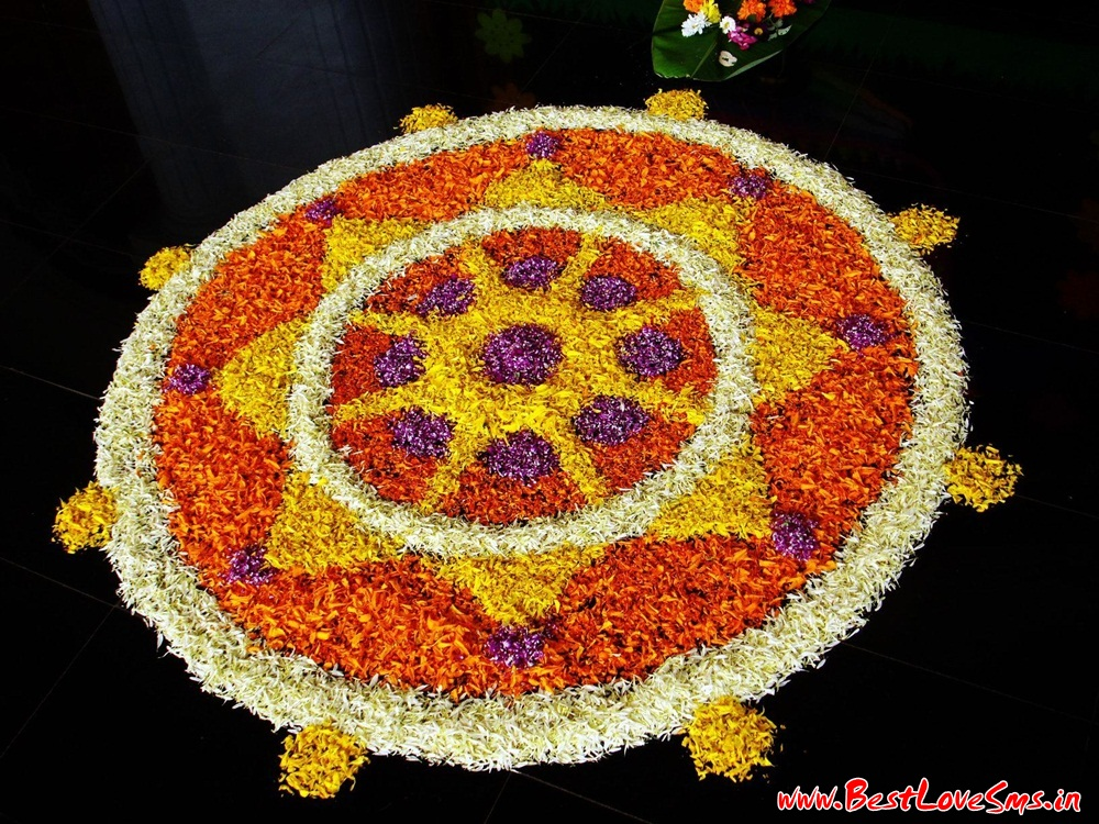 Small Flower Rangoli