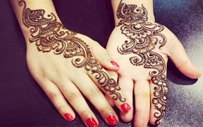 Arabic Mehndi Picture