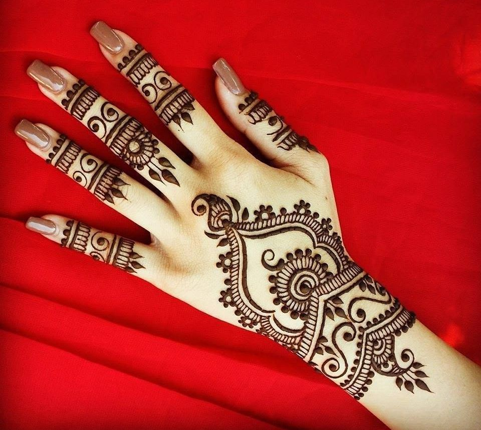 Selected amp beautiful arabic mehndi designs for back hands