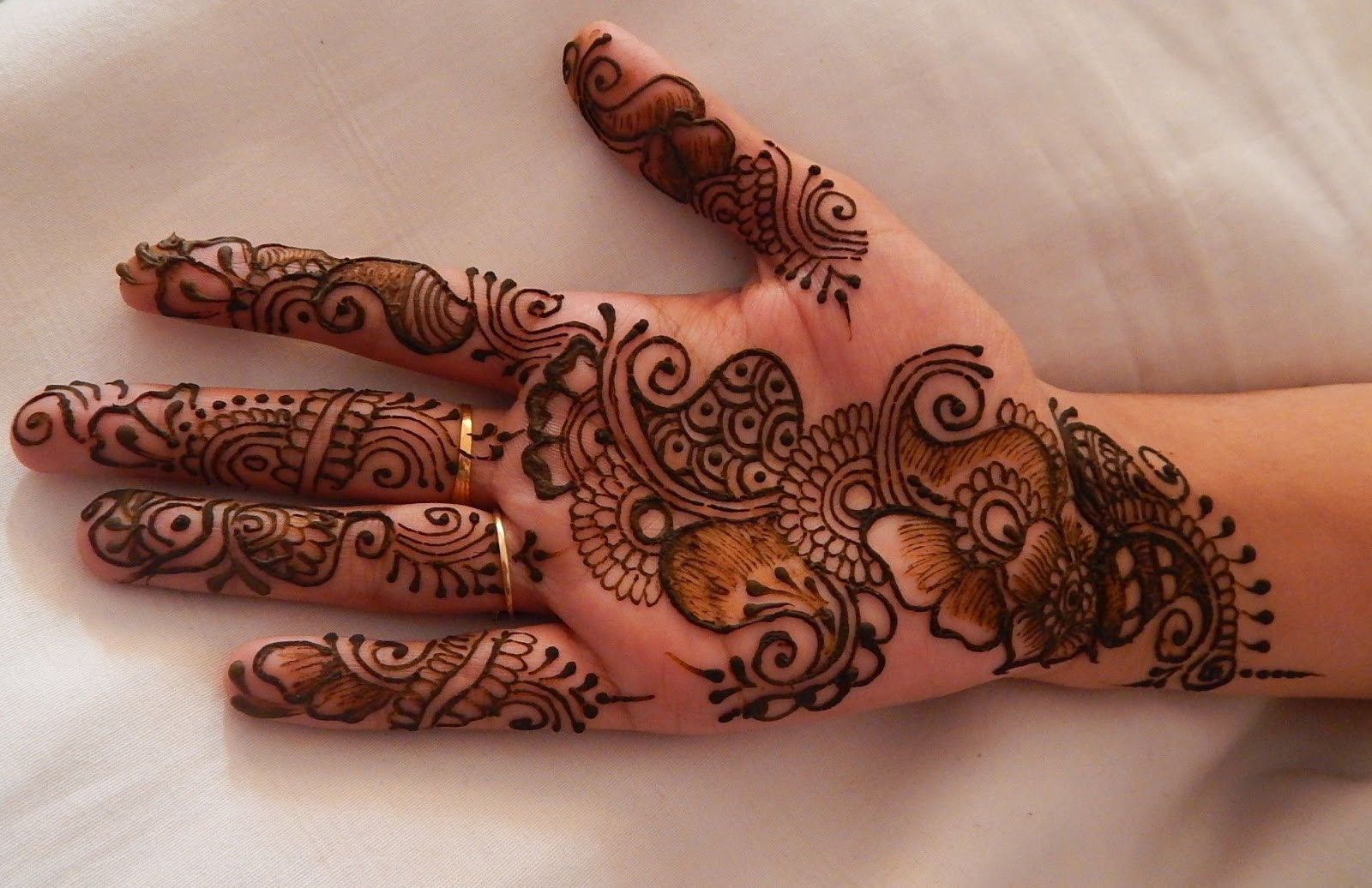 Henna Designs Arabic for Hands