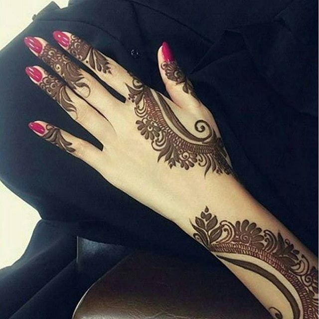 Pakistani Arabic Mehndi Designs for Hand