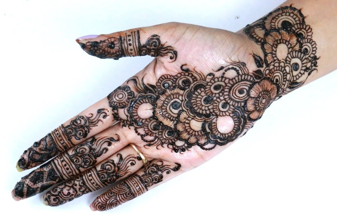 Henna Arabic Designs for Hands