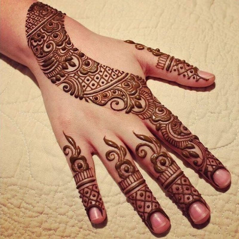 Arabic Mehndi Designs Back Hand