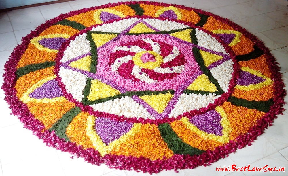 Flower Decoration Rangoli