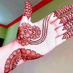 Simple & Easy Front Hand Arabic Mehndi Designs