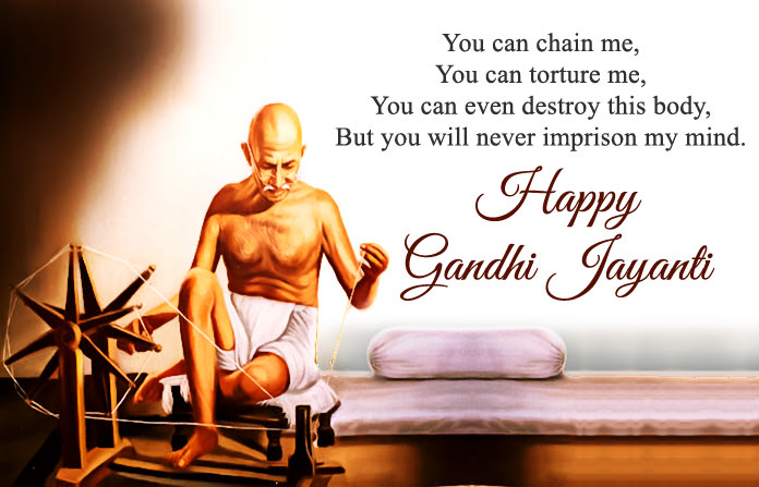 Happy Mahatma Gandhi Jayanti Wishes