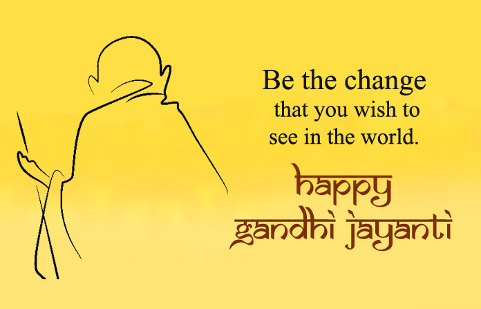 Gandhi Jayanti Wishes Images