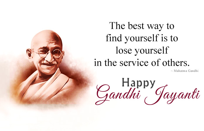 Happy Gandhi Jayanti Images
