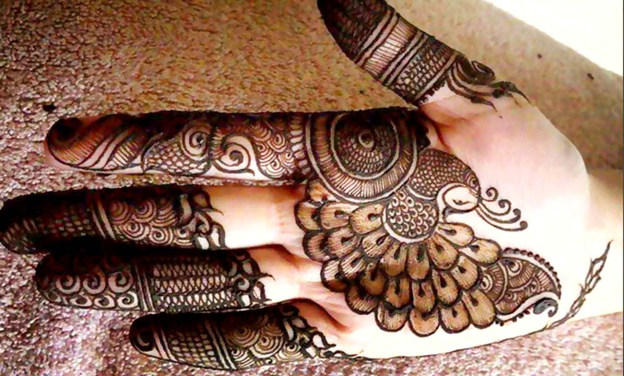 Front Hand Arabic Mehndi Designs for Stylish Girls Women, Simple & Easy