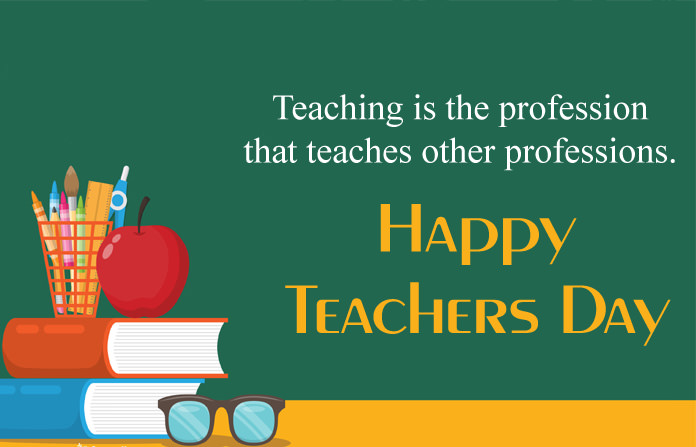 Teachers Day Inspirational Quotes Image