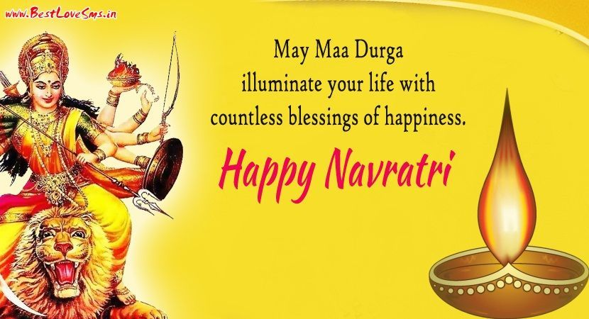 Happy Navratri Status, Quotations, Messages in English