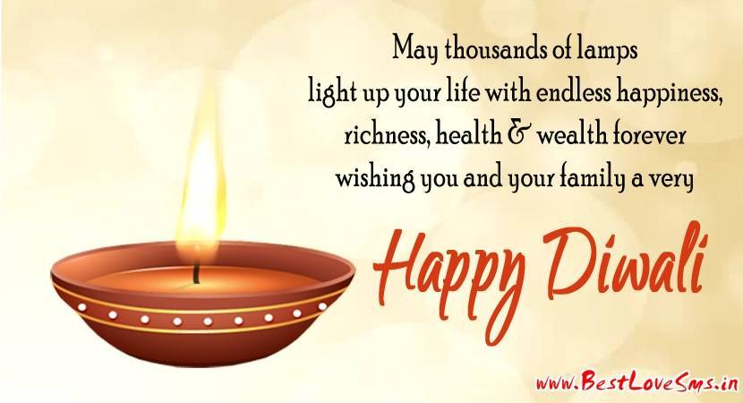 Happy Deepavali Quotes In English: Happy Diwali Wishes In Hindi & English 2017 For Friends