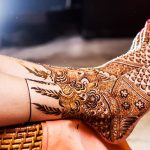 Beautiful Bridal Mehndi Designs for Legs