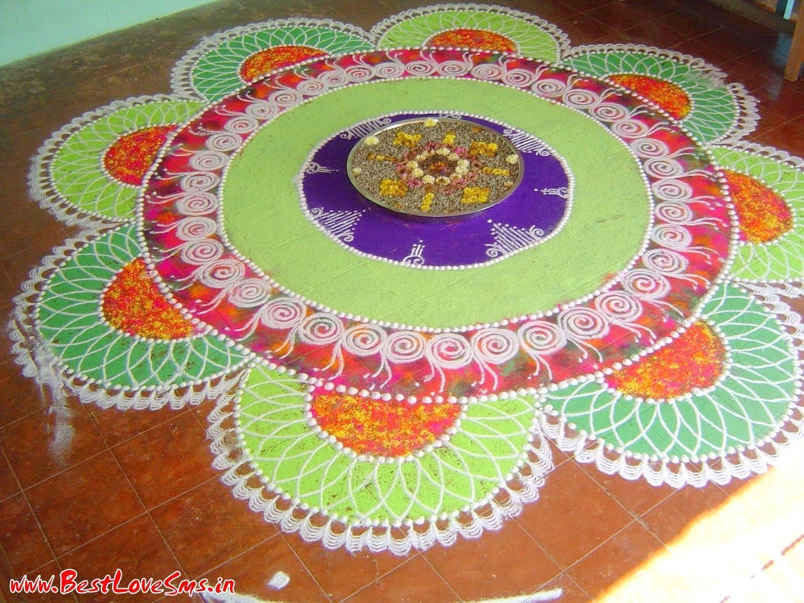 Latest Rangoli Designs For Competition