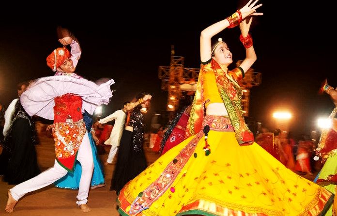 Beautiful Garba Dance Image
