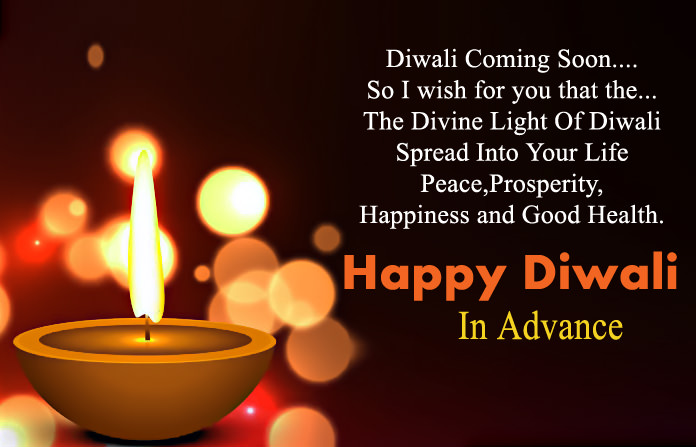 Diwali Greetings In Advance